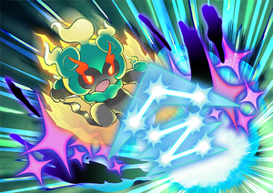 Artwork de Marshadow usando constelación robaalmas