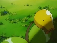 EP079 Muk de Ash usando golpe cuerpo