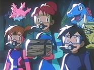 EP216 Misty, Luka y Ash con el cofre