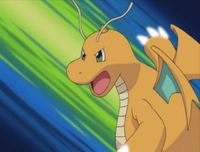 EP374 Dragonite usando garra dragón