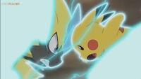 EP1044 Ataque rápido de Pikachu y Zeraora