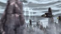 EP913 Noivern de Ash usando supersónico