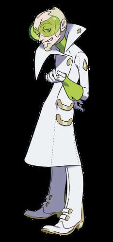 <i>Fabio en Pokémon Sol y Pokémon Luna</i>
