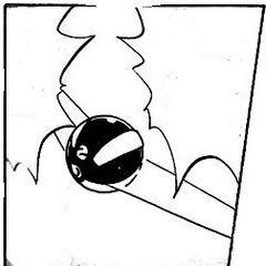 Pokéboomerang en el manga.