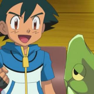 Ash hablando con <a href=