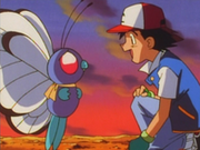 EP021 Ash despidiendose de Butterfree