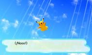 MM3D Pikachu cayendo