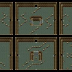 Cuartos aleatorios entre el primer y el segundo pilar.