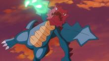 EP936 Druddigon usando garra dragón
