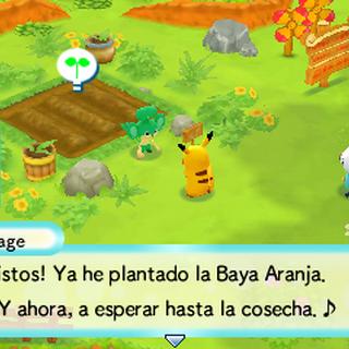 Pansage y el <i>Huerto Aranja</i>