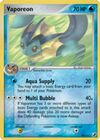 Vaporeon 19 (Ex (TCG) Unseen Forces)