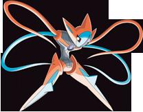 Deoxys Pokémon Ranger 3