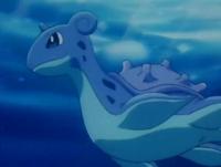 EP114 Lapras nadando