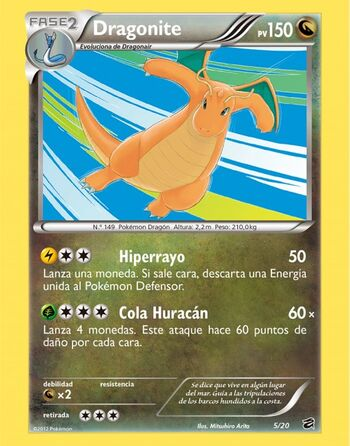 Carta de Dragonite