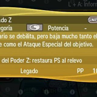 Legado Z restaura los PS del Pokémon que entre en su lugar