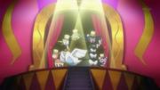 EP713 Pokémon actuando en el escenario