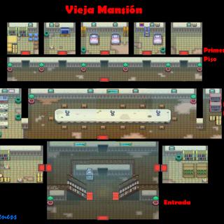 Interior de la Vieja Mansión