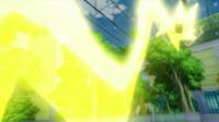 EP810 Pikachu usando rayo