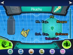 Entrenamiento base Pikachu inicial