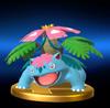 Trofeo de Mega-Venusaur SSB4 (Wii U)