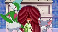 EP646 Zoey junto a sus pokémon