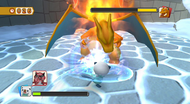 PokéPark 2 lucha con Charizard