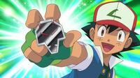 EP778 Ash con la medalla Dragón
