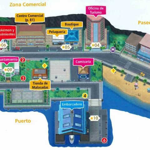 Mapa de Ciudad Hauoli