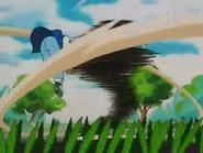 EP001 Pidgey salvaje usando Tornado en Ash