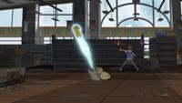 EP1019 Pikachu usando Ataque rápido