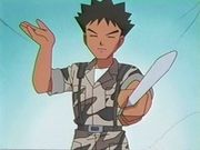 EP135 Brock disfrazado de militar