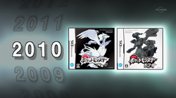 PO01 Reshiram y Zekrom Portada de Pokémon Blanco y Negro