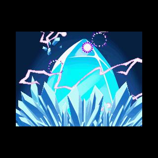 Al resolver el acertijo un gran cristal saldrá.