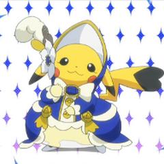 Pikachu Belle/aristócrata