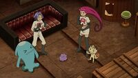 EP1108 Ditto con el Team Rocket