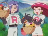 EP230 Equipo Rocket robando huevos