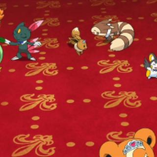 Parejas Pokémon bailando.