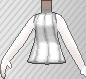 Jersey sin mangas blanco