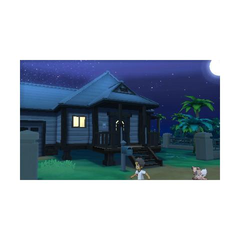 Tiempo en Pokémon Luna.