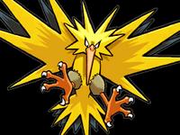 Zapdos Pokémon Ranger 3