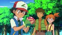 EP778 Ash, Misty y Brock