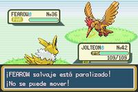 Pokémon paralizado RFVH