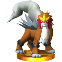 Trofeo de Entei SSB4 (3DS)