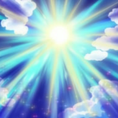 ...y finalmente, impactan en el sol, intensificando su energía.