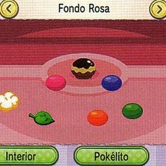 Podemos decorar los fondos con un Pokélito para atraer más Pokémon y conseguir regalos.