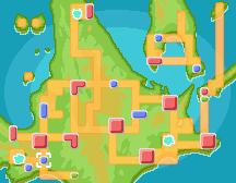 Pueblo Arena mapa