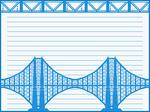 Carta puente A grande