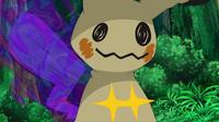 EP946 Mimikyu usando mazazo