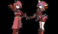 VS Carola y recluta del Equipo Magma ROZA