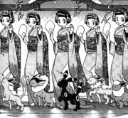 Chicas kimono adventures
